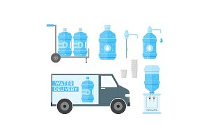 Water Delivery Service.