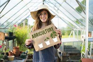 Farming Agriculture Concept