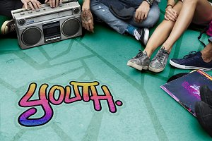 Youth Culture Concept