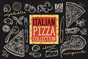 Italian Food, Pizza Elements