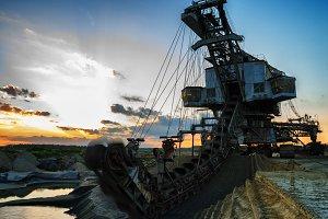 Gigantic industrial machine