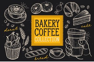 Bakery, Dessert and Coffee Elements