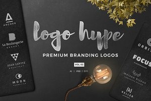Modern logo template  hype vol.02