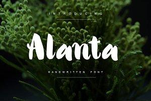 Alanta Bold Handwritten Script