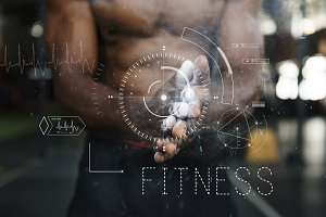 Fitness Healthy People Concept