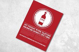 In Vino Veritas Flyer