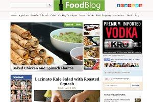 FoodBlog Food & Recipe WP Theme