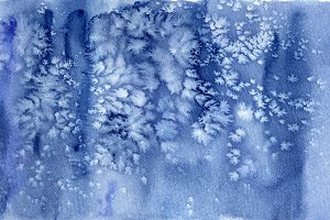 Frosty watercolor texture