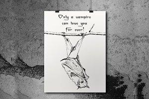 Vampire Poster, Halloween