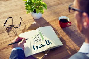Goals Growth Success Target Concept
