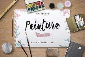 Peinture Typeface