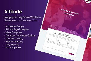 Attitude - Multi-Purpose WP Theme