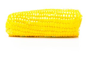 Corn On White