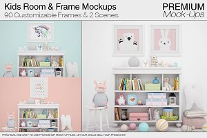 Kids Room & Frames Pack