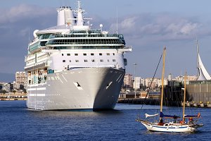 Cruise and ketch sailboat
