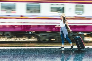 Travel and lifestyle concept
