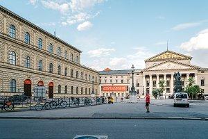 Munich National Theatre building