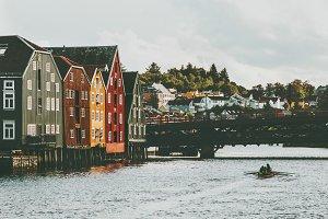 Trondheim city in Norway