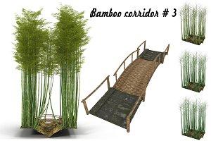 Bamboo corridor # 3