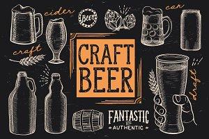 Beer Graphic Elements