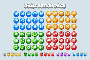 Game buttons pack