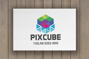Pixcube Logo