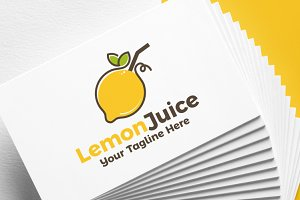 Lemon Juice | Logo Template