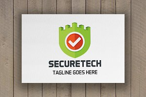 Securetech Logo Template