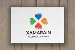Xamarain Letter X Logo