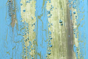 Blue Weathered Paint