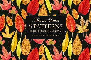 Autumn Leaves Patterns