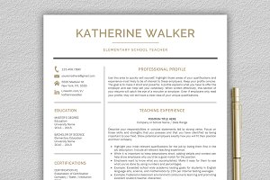 Teacher Resume / CV Teacher