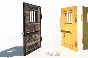 Western Prison Jail Door