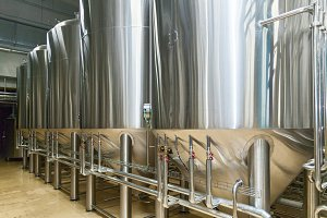 equipment for beer production