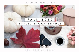 Fall Styled Stock Bundle