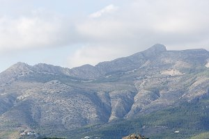 Mountains in Alicante