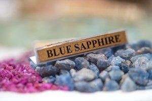 precious gemstone close-up