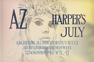 AZ Harper's July