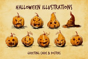 27 Halloween Illustrations