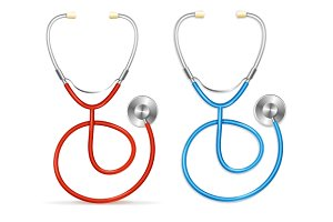 Vector Stethoscope set