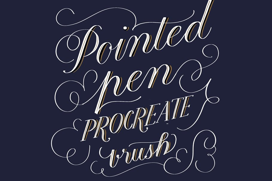Download Calligraphy Fonts Procreate