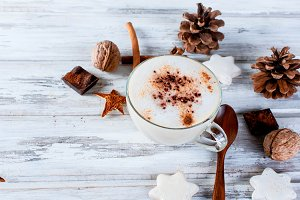 Cup hot cocoa