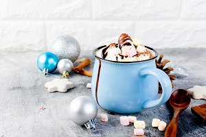 Christmas traditional hot drink