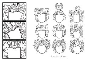 Set of Aristocratic Emblems Vol. II