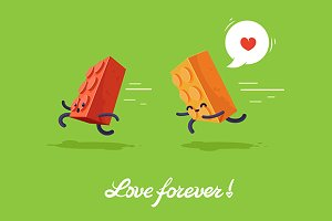 Vector illustration for lovers.