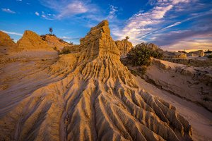 Mungo National Park in Australia