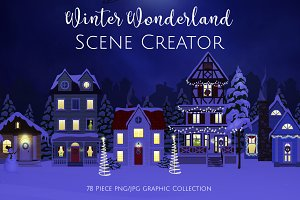 Winter Wonderland Scene Creator