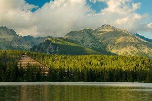 Mountain lake in National Park High Tatra, Slovakia