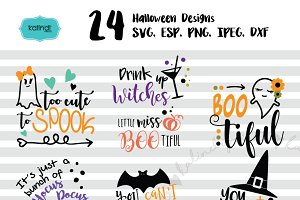 Halloween bundle SVG vol1