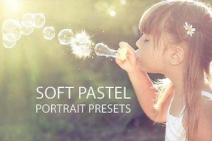Soft Pastel Portrait Presets